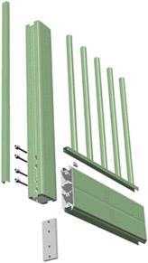 Structure et assemblage des portails aluminium CETAL - AFP - Gironde