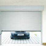 Porte de garage enroulable en aluminium automatique - LAKAL - Gironde