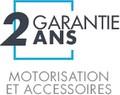 Garantie des accessoires et motorisation Distra'sun de 2 ans